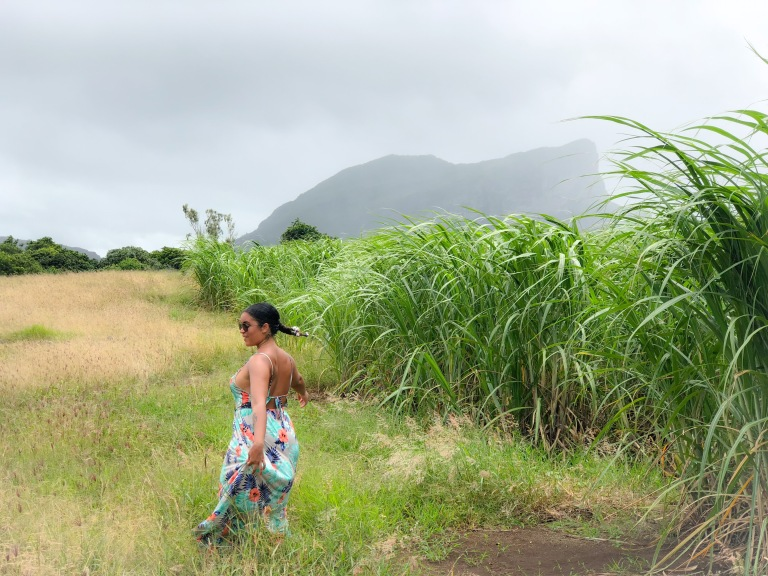 Dancing in SugarCane Fields in Mauritius